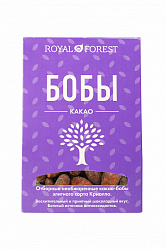 Какао бобы необжаренные Royal Forest 100г